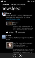 Windows Phone 7 - FacebookNewsfeed